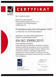 AGM - ISO 29990