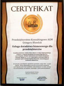 LaurEksperta - doradztwo