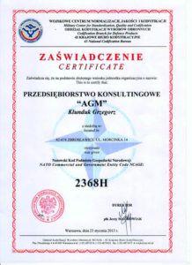 Natowski Kod Podmiotu Gospodarki Narodowej