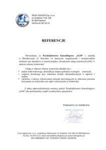 Referencje trustlogistics